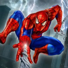 Online coloring pages of Spiderman