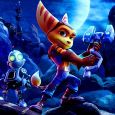 Online coloring pages of Ratchet and Clank