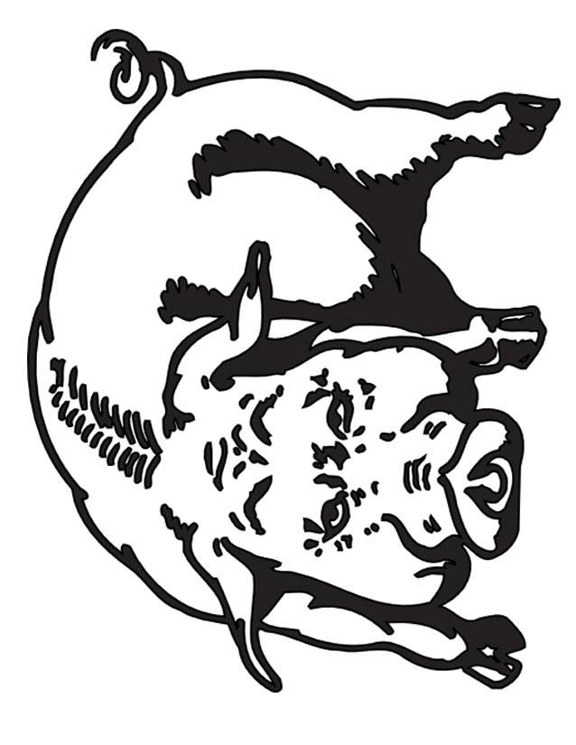 Free coloring and drawings Boar for kids Coloring page