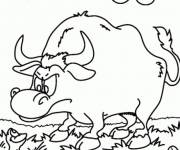 Coloring pages Bull Frog