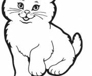 Coloring pages Too cute pussy