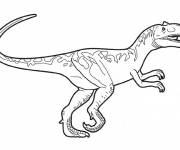 Coloring pages Color dinosaur on computer