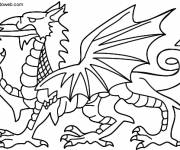 Coloring pages Color dragon