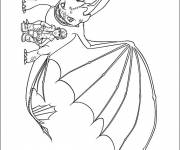 Free coloring and drawings Dragon Krokmou Coloring page