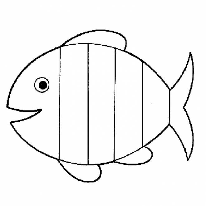 Free coloring and drawings Fish online Coloring page