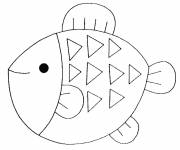Coloring pages Fish to download
