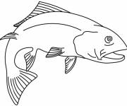 Coloring pages Japanese fish