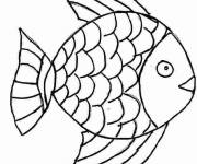 Coloring pages Pencil fish