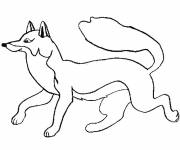 Coloring pages Easy fox