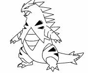 Free coloring and drawings Cartoon iguana Coloring page