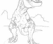 Free coloring and drawings Indominus Rex Coloring page