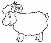 Coloring pages Sheep