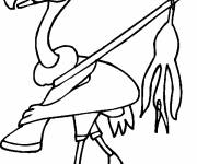 Coloring pages Hunter vulture