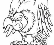 Coloring pages Wicked vulture