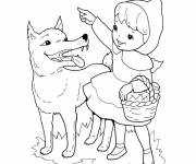 Free coloring and drawings Wolf the forest Coloring page