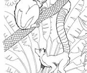 Free coloring and drawings Children's zoo Coloring page