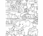 Free coloring and drawings Color zoo Coloring page