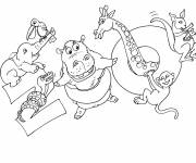 Free coloring and drawings Zoo and Animals Coloring page