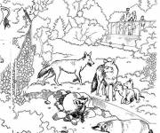 Free coloring and drawings Zoo to download Coloring page