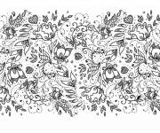 Coloring pages Nature Adult Anti-stress