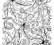 Coloring pages Adult difficult plants