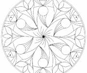 Coloring pages Adult Difficult stylized