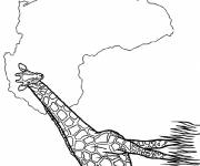 Coloring pages Africa coloring