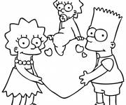 Coloring pages Bart Simpson Online
