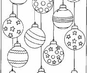 Coloring pages Christmas balls online