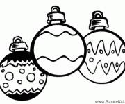 Coloring pages Vector christmas balls
