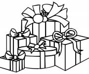 Coloring pages Birthday present