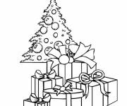Coloring pages Christmas Gifts