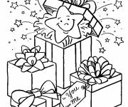 Coloring pages Surprise in the Gift