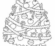 Coloring pages Drawing christmas tree