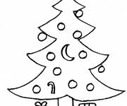 Coloring pages Fir tree