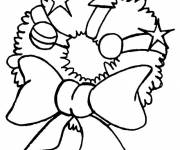 Coloring pages Color christmas wreath