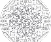 Coloring pages Adult Difficult stressful