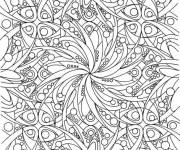 Coloring pages Adult plant and hard leaf