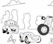 Coloring pages Cars Flash disney
