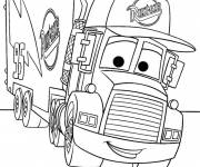 Coloring pages Disney truck