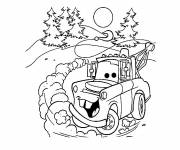 Coloring pages Martin car cartoon