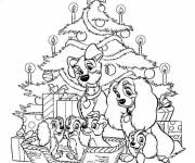 Coloring pages Disney Christmas for children