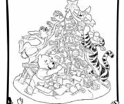 Coloring pages Disney Christmas to download