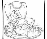 Coloring pages Disney Magic Christmas