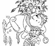 Coloring pages Winnie the Pooh Disney