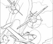 Coloring pages Dusty planes to color