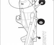 Coloring pages Dusty planes to download