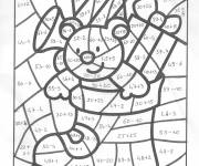 Coloring pages Magic Christmas Addition