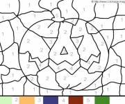 Coloring pages Magic Easy Pumpkin
