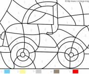 Coloring pages Magic Kindergarten The Car